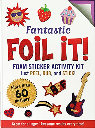 Fantastic Foil It! (foam sticker activity kit): Peter Pauper Press