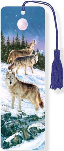 9781441313959: Wolves 3-D Bookmark (Lenticular Bookmark)