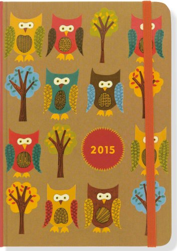 2015 Owls Weekly Planner (16-Month Engagement Calendar, Diary): Peter Pauper Press