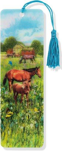 9781441314116: Horses 3-D Bookmark (Lenticular Bookmark)