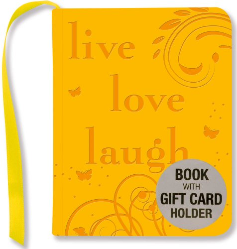 Live, Love, Laugh (mini book, gift card: Amber Tunnell