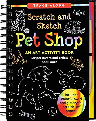 9781441314185: Pet Shop Scratch and Sketch Trace-Along