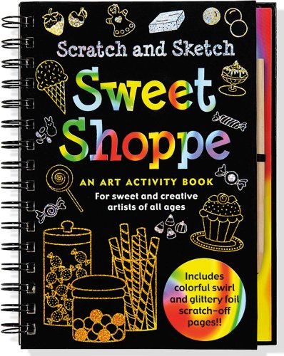 Sweet Shoppe Scratch and Sketch: Levy, Talia