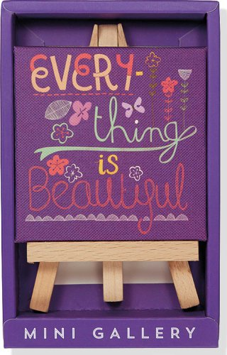 9781441314567: Everything is Beautiful Mini Gallery (artwork with mini easel)