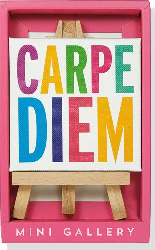 9781441314574: Carpe Diem Mini Gallery (artwork with mini easel)