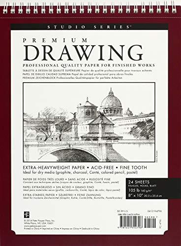 9781441314796: Premium Drawing Pad 8'' X 10'' (Sketchbook, Sketch book) (Studio)
