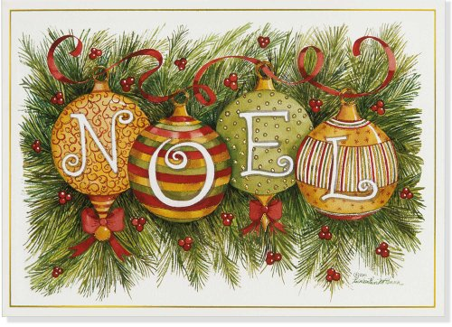 9781441314857: Noel Ornaments Small Boxed Holiday Cards (Christmas Cards, Greeting Cards)