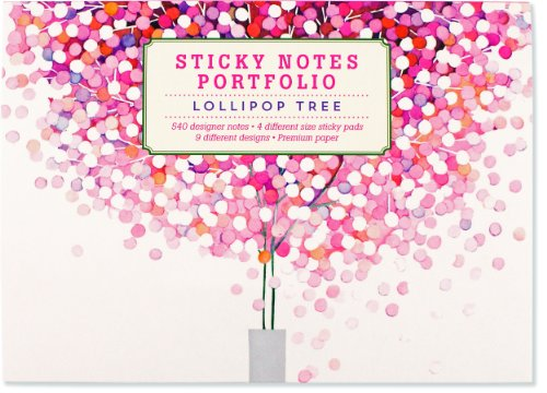 9781441315571: Lollipop Tree Sticky Notes Portfolio