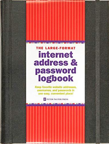 9781441315953: Large-Format Internet Address & Password Logbook