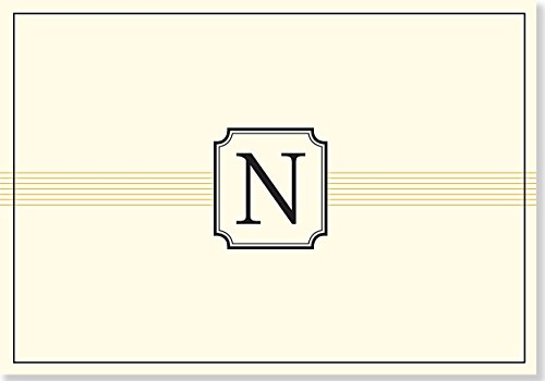 9781441316509: Monogram Note Cards: N (Stationery, Boxed Cards)