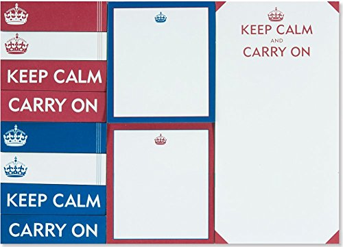 9781441316615: Keep Calm & Carry On Sticky Notes