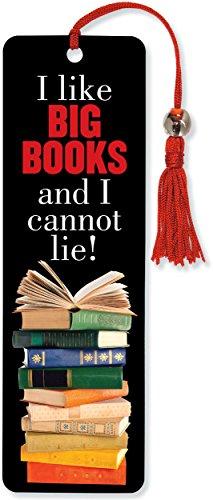 9781441316967: I Like Big Books Beaded Bookmark