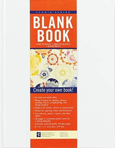 Studio Series Blank Book (White): Peter Pauper Press Inc