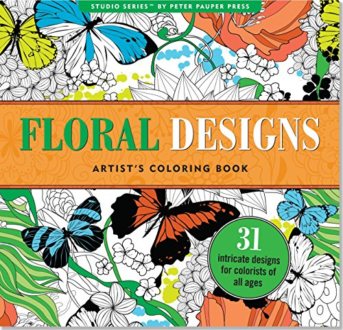 9781441317452: Floral Designs Adult Coloring Book (31 stress-relieving designs) (Studio)