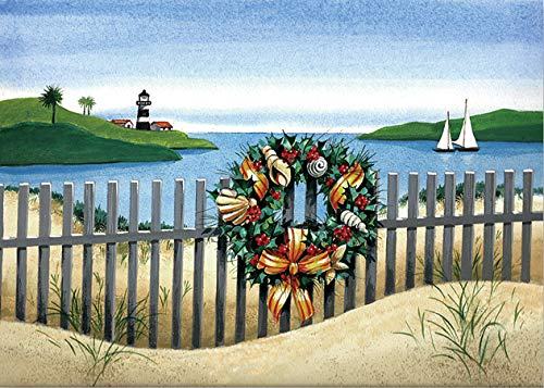 Festive Seashore Deluxe Boxed Holiday Cards (Christmas Cards, Holiday Cards, Greeting Cards): Peter...
