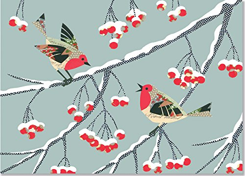 9781441317766: Winter Songbirds Deluxe Boxed Holiday Cards