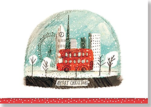 9781441317803: London Snowglobe Small Boxed Holiday Cards (Christmas Cards, Holiday Cards, Greeting Cards)