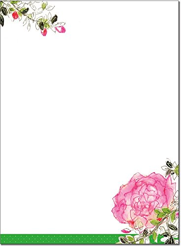 Rose Garden Stationery Set (Boxed Stationery)