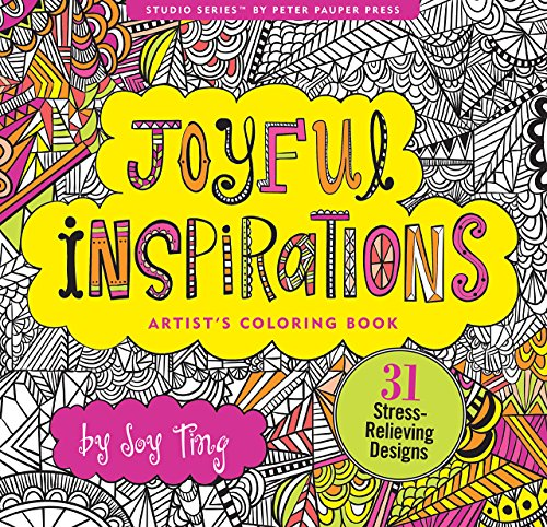 Joyful Inspiration Adult Coloring Book
