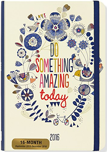 9781441318800: 2016 Do Something Amazing Weekly Planner (16-Month Engagement Calendar, Diary)