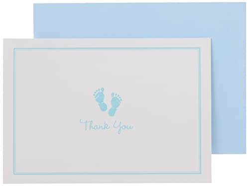 9781441318947: Baby Steps Thank You Notes - Blue (Stationery, Note Cards, Boxed Cards)