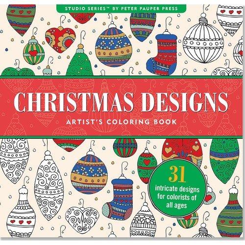 Christmas Designs Artist's Coloring Book: Ting, Joy