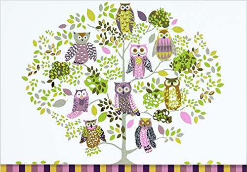 Owl Forest Note Cards (Stationery, Boxed Cards): Peter Pauper Press
