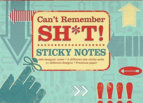 9781441319425: Can't Remember Sh*t Sticky Notes (self-stick notes)