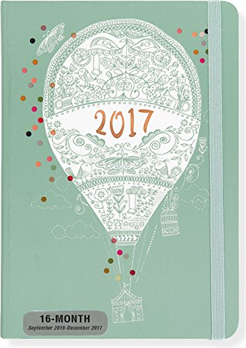 9781441319845: 2017 Up, Up, and Away Weekly Planner (16-Month Engagement Calendar)