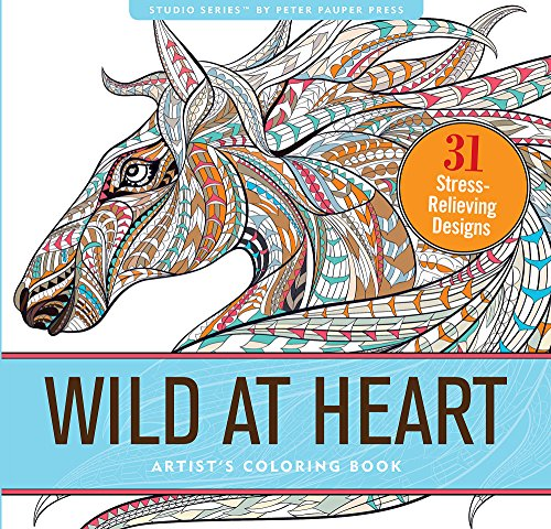 Wild At Heart Adult Coloring Book (31 ...