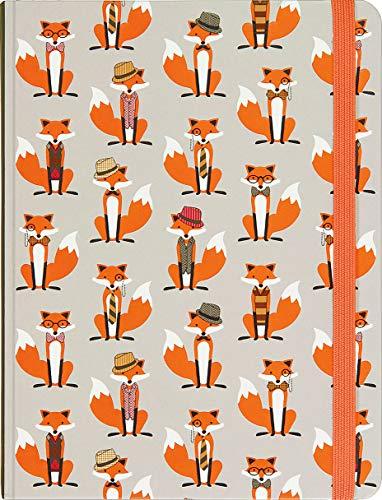 9781441320438: Dapper Foxes Journal (Diary, Notebook)
