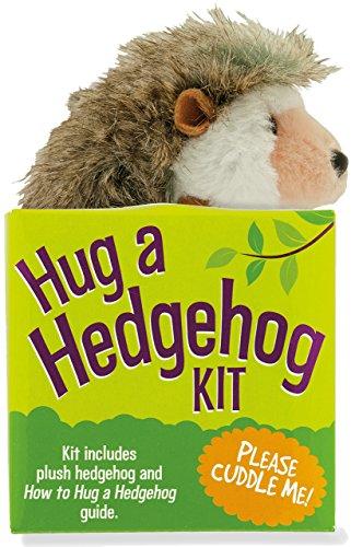 Hug a Hedgehog Kit (Plush toy and book): Peter Pauper Press