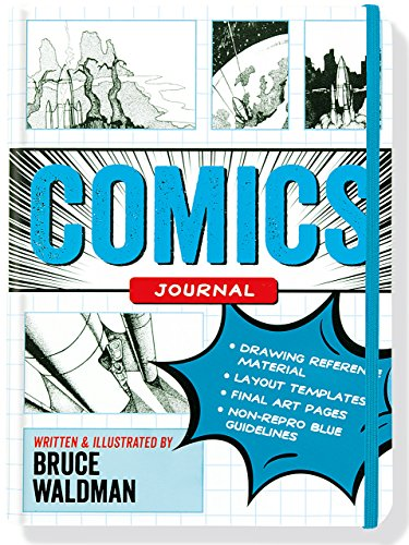 Comics Journal (Step-by-step templates for creating comics and graphic novels): Bruce Waldman