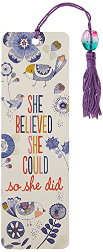 9781441321749: She Believed She Could Beaded Bookmark