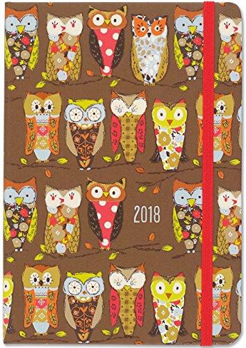 Perching Owls 2018 Weekly Planner: Peter Pauper Press