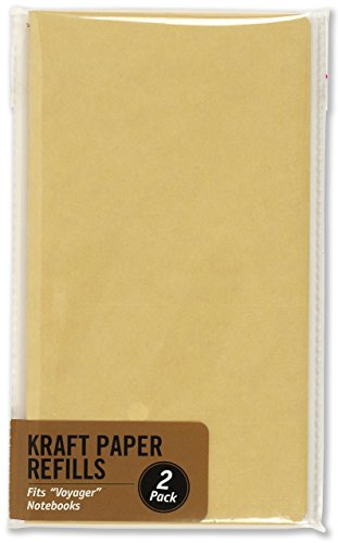 9781441328748: Kraft Paper Refill (Inserts for Voyager Notebooks)