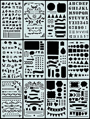 9781441328854: Essentials Dotted Journal Stencil Set (300 designs)
