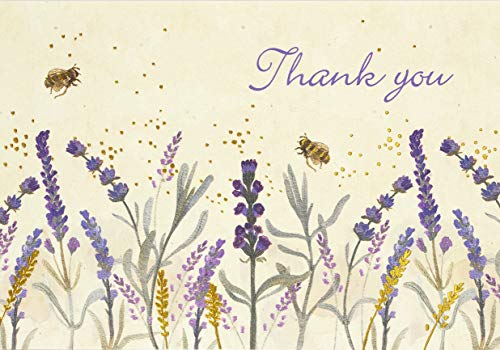 9781441331519: Lavender & Honey Thank You Notes (Stationery, Note Cards, Boxed Cards)