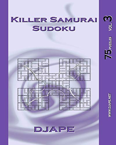 9781441401007: Killer Samurai Sudoku vol. 3: 75 puzzles