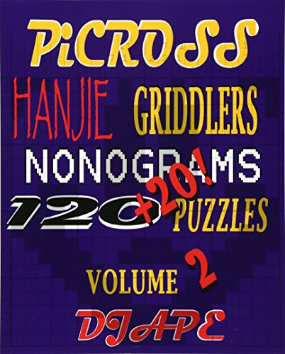 9781441409782: Picross, Hanjie, Griddlers, Nonograms: 120+20! Puzzles
