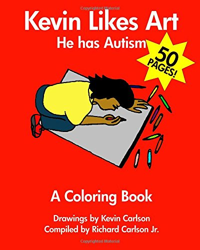 9781441413123: Kevin Likes Art: He Has Autism - A Coloring Book