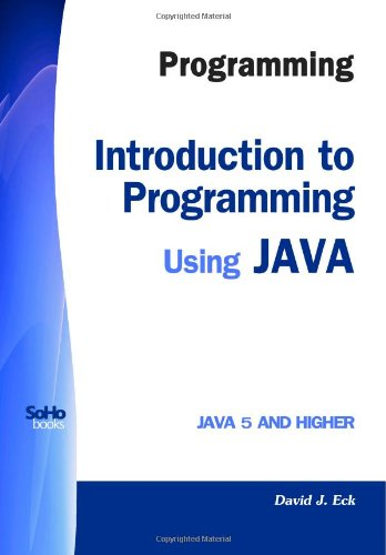 9781441419767: Programming: Introduction to Programming Using JAVA