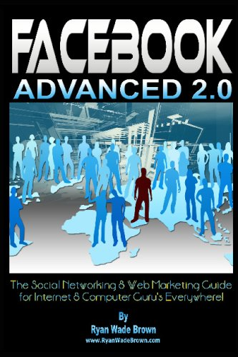 9781441425904: Facebook Advanced 2.0 - Black & White Version: The Social Networking & Web Marketing Guide For Internet & Computer Guru's Everywhere!
