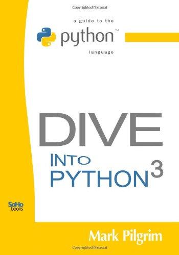 Dive Into Python 3: Pilgrim, Mark