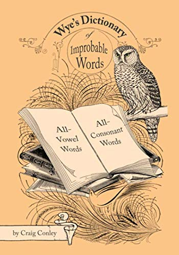 9781441455277: Wye's Dictionary Of Improbable Words: All-Vowel Words And All-Consonant Words