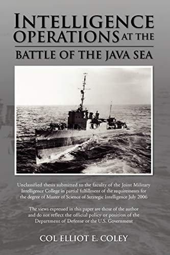 9781441517685: Intelligence Operations at the Battle of the Java Sea