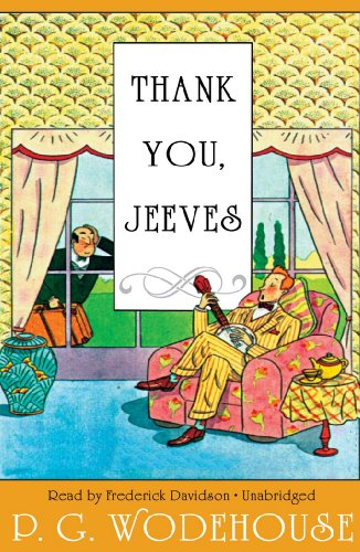 Thank You, Jeeves (Library Edition) (1441720006) by P. G. Wodehouse