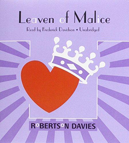 Leaven of Malice: The Salterton Trilogy, Book 2: Davies, Robertson; Davidson, Frederick