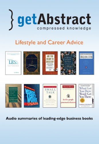 9781441733788: Lifestyle and Career Advice (getAbstract series)