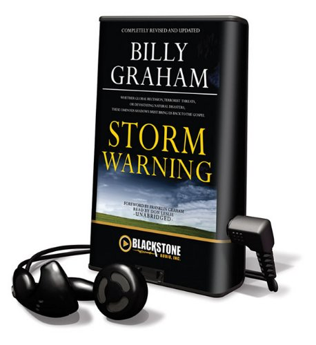 Storm Warning (Playaway Adult Nonfiction) (1441766413) by Graham, Billy